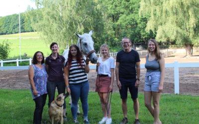 Der neue Vorstand des Reitervereins Aschaffenburg u. Umgebung e.V.