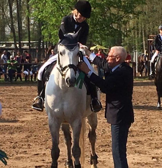 Quinex und Chiara erfolgreich in Dieburg